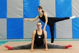 В нашем спортивном комплексе открылась школа гимнастики для взрослых