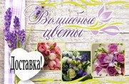 ВОЛШЕБНЫЕ ЦВЕТЫ - Магазин цветов и подарков ручной работы