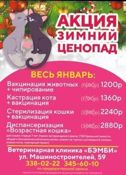 """Акция """"Зимний Ценопад"""" 2021"""