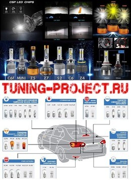 Авто Акция на светодиодные лампы! До 30 октября