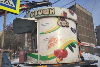 На Уралмаше демонтирован очередной незаконный торговый объект