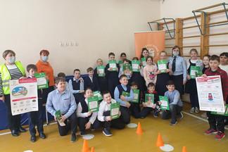 Школьники Орджоникидзевского приняли участие в лаборатории безопасности
