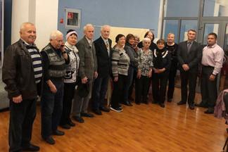 Ветеранов Орджоникидзевского района поздравили с грядущим Днем пожилого человека