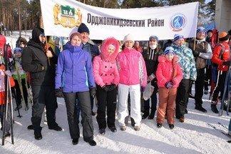 Более 4 500 орджоникидзевцев приняли участие в «Лыжне России-2017»
