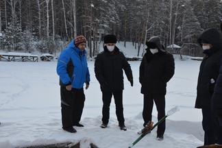 Глава Администрации Орджоникидзевского района Роман Кравченко провел осмотр территории на Калиновских разрезах