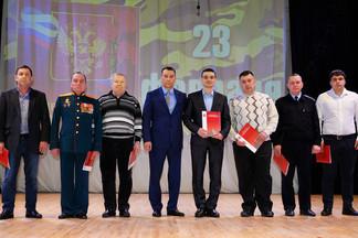 Праздник, посвященный Дню защитника Отечества, состоялся в Центре культуры «Эльмаш» имени Ю.П. Глазкова