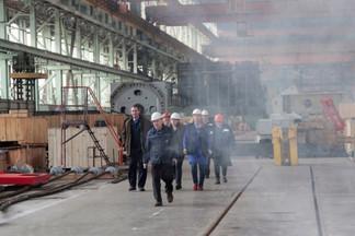 В Екатеринбурге горит завод «Уралмаш»