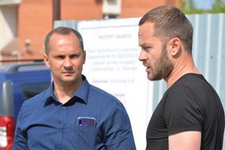 Роман Кравченко проинспектировал строительство торгового комплекса на улице Войкова