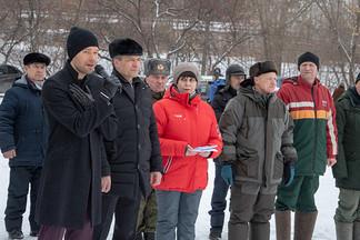 Алексей Вихарев выступил с приветственным словом перед участниками районного этапа военно-спортивной игры «Сильные духом»