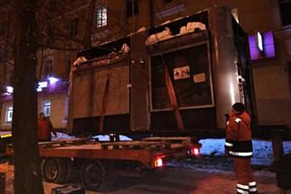 В Орджоникидзевском районе демонтирован очередной незаконный торговый объект