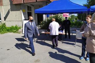 В Орджоникидзевском районе открылись участки для голосования