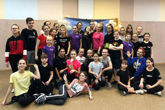 «Танцевальный марафон-2019»: в центре «Созвездие» состоялся мастер-класс по современной хореографии