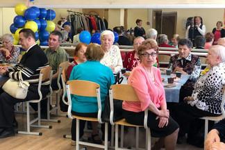 День Победы отметили члены районного отделения Всероссийского общества слепых