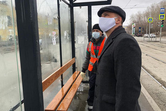 Роман Кравченко лично проверил качество уборки улично-дорожной сети