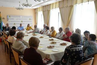 В Администрации Орджоникидзевского района проведено отчетное собрание Совета ветеранов