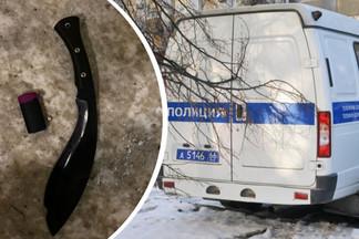 В Екатеринбурге задержали психа с кукри, отрезавшего два пальца женщине на Эльмаше