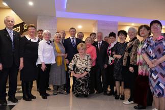 Новогодний праздник для представителей общественных организаций состоялся в Свердловском дворце народного творчества