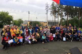 В Орджоникидзевском районе завершились соревнования среди юных туристов