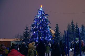Открыт ледовый городок в Садовом: готовы все площадки Орджоникидзевского района