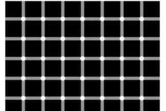 Сколько черных точек изображено на картинке?
