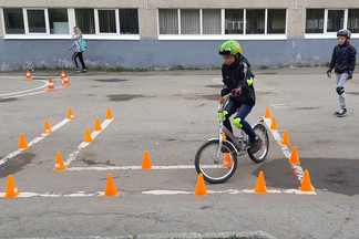 Победителями районного конкурса «Безопасное колесо» стали ребята из школы № 27