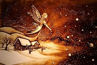 Новогоднее и Рождественское песочное шоу в детском центре ЧУДЕСНЫЙ МИР