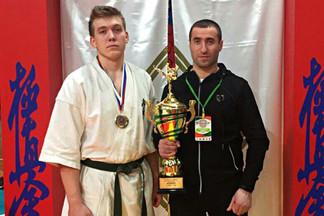 Воспитанник центра «Созвездие» стал победителем Всероссийских соревнований по киокусинкай