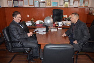 Роман Кравченко провел рабочую встречу с главным врачом ГКБ № 14