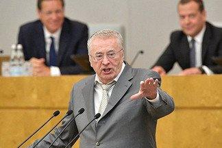 Жириновский призвал принять закон оконтрсанкциях