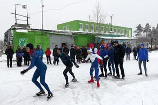 В Орджоникидзевском районе состоялось первенство по конькобежному спорту, посвященное памяти Татьяны Карелиной