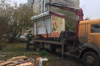 Напоминаем, что в Орджоникидзевском районе проводится демонтаж незаконных объектов