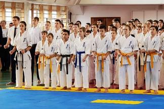 В Орджоникидзевском районе состоялся Новогодний турнир по киокусинкай