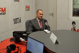 Роман Кравченко выступил в прямом эфире радио «Город FM»
