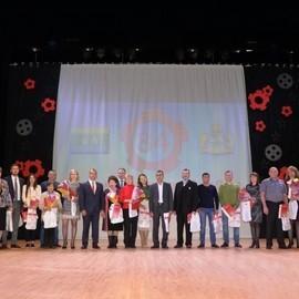 Праздник, посвященный 84-летию Орджоникидзевского района в ЦК «Эльмаш»
