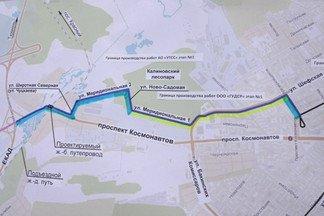 Ради строительства трамвайной линии в Верхнюю Пышму будут перекрывать улицы на Эльмаше
