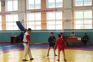 Завершились соревнования Первенства Орджоникидзевского района по Самбо