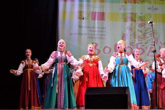 Фольклорный коллектив «Воробейка» отметил свое 35-летие