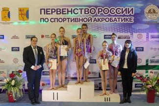 Спортсменки Орджоникидзевского победили в Первенстве России по спортивной акробатике
