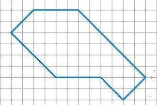Попробуйте разделить данную фигуру ломаными линиями на три одинаковые части