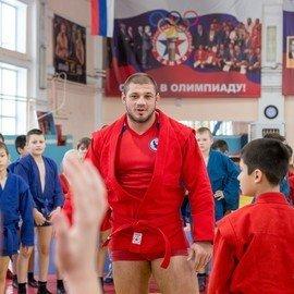 Мастер-класс Ивана Штыркова в школе самбо Уралмаш
