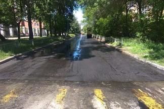 Работники ДЭУ завершили ремонт дорог на участке улицы Бабушкина и на проспекте Космонавтов