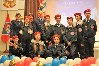 Школьники Орджоникидзевского одержали победу в региональном конкурсе пожарных дружин