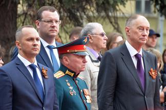 День Победы в Орджоникидзевском: состоялся традиционный митинг на площади Первой Пятилетки