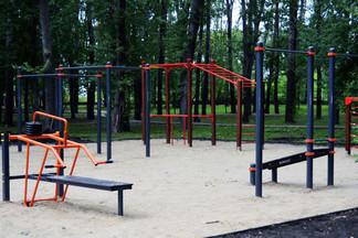 В парке «Эльмашевский» появится воркаут-площадка: проект официально утвержден