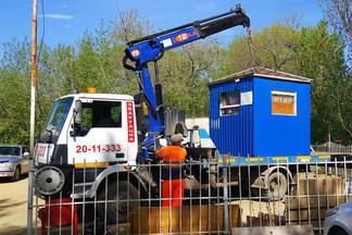 В Орджоникидзевском районе продолжается борьба с НТО: ликвидирована очередная парковка