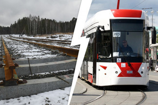 Где в Екатеринбурге будет останавливаться новый трамвай до Верхней Пышмы