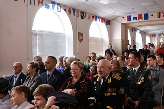 Фонд ветеранов и инвалидов военно-морского флота «Экипаж» отметил День защитника Отечества