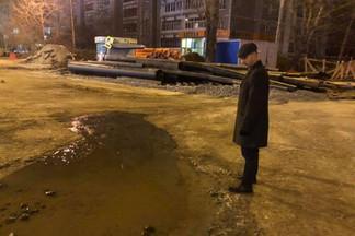 Открытие перекрёстка Фрезеровщиков-Старых Большевиков вновь откладывается
