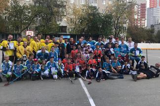 В Екатеринбурге состоялся первый Чемпионат по роллер-хоккею