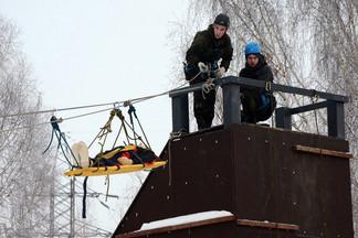 В Орджоникидзевском районе проведена военно-спортивная игра «Зарница»